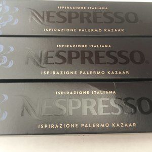 NESPRESSO (3) Boxes Palermo Kazaar